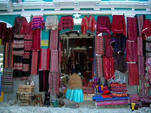 Bolivian Textiles in La Paz