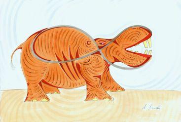 The Hippo by Alex Beard